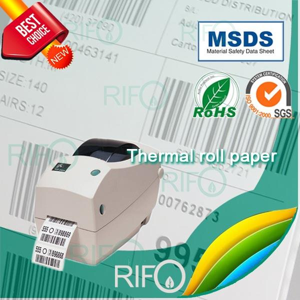 RTM-75 PP based thermal Synthec Paper BOPP for bar-coder